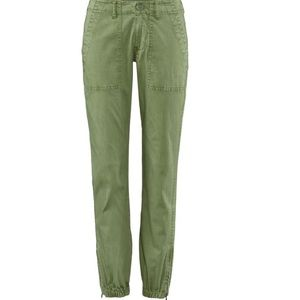 CAbi Quest Joggers in Army Green - worn once!